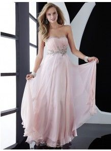Sheath/Column Chiffon Sweetheart Zipper Floor-length Crystal/Rhinestone Beading Prom/Evening Dresses