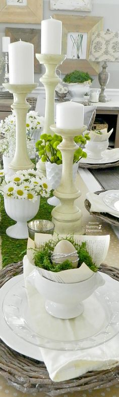 Spring|Easter Table Setting