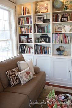 Built-in-bookcases