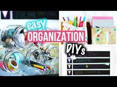 Organization DIYs &