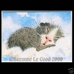 ACEO-LTD-ED-GUINEA-PIG-IN-CLOUDS-PRINT-FROM-ORIGINAL-PAINTING-BY-SUZANNE-LE-GOOD