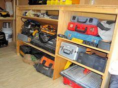 Job Site Trailers, Show Off Your Set Ups! - Page 13 - Tools & Equipment Trailer Shelving, Van Shelving, Trailer Storage, Truck Storage, Cargo Trailer Conversion, Cargo Trailer Camper, Cargo Trailers, Utility Trailer, Van Storage