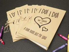 Wedding kid activity coloring book on Etsy, $3.00