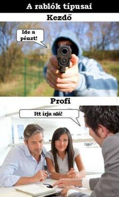 There Are Two Types Of Robbers // funny pictures - funny photos - funny images - funny pics - funny quotes - Really Funny, The Funny, Crazy Funny, Funny Images, Funny Pictures, Random Pictures, Funny Pics, Funny Jokes, Hilarious