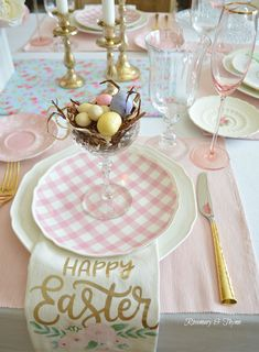 easter decorations 485966616041227528 - 12 Beautiful and Easy Easter Tablescape Ideas to Make Source by Easter Table Settings, Easter Table Decorations, Party Decoration, Easter Decor, Easter Ideas, Easter Centerpiece, Table Place Settings, Diy Centerpieces, Easter Dinner