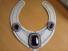 * Jo Spick Beadwork: New bead embroidered collar project