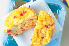 Pack the kids off to school with these pasta-based frittatas. You might not mind them for work either!