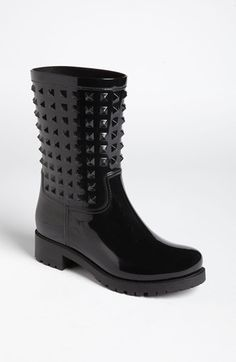 Valentino 'Rockstud' Rain Boot