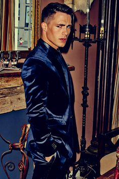 Colton Haynes By: Eric Ray DavidsonFLAUNT | #131THE BATTLE FALL 2013