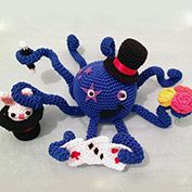 Octy the magician octopus by Inbalen please vote for me