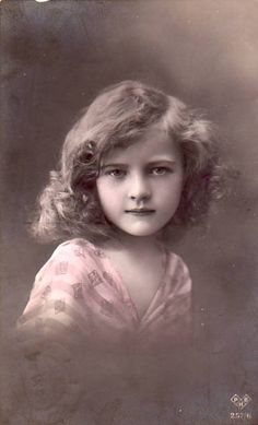 Vintage Pictures Cute Young Lady