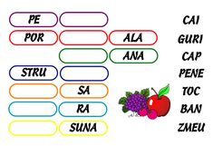 Joc de copii: Completează cuvintele (1) Kids Education, School, Cl, Literatura, Studying, Early Education
