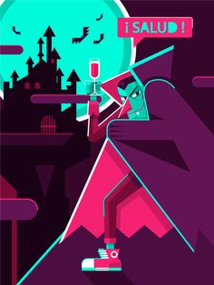 How to Draw a Colorful, Fun, Vector Vampire in Adobe Illustrator | Vectortuts+