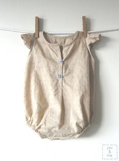 Oliver + S Lullaby Layette Summer Bodysuit | by you & mie