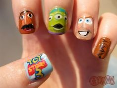 Toy Story 3 Nails