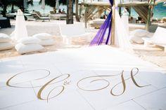 custom wedding dance floor #LaminateTileFlooring Vinyl Laminate Flooring, Wedding Decorations, Table Decorations, Decor Wedding, Wedding Ideas, Punta Cana Beach, Dance Floor Wedding, Tablescapes, Floral Arrangements
