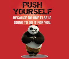 Push Yourself You can't expect others to help you if they don't see you helping yourself! Disney Princess Quotes, Disney Movie Quotes, Disney Songs, Reality Quotes, Mood Quotes, Cute Quotes, Happy Quotes, Kung Fu Panda Quotes, Martial Arts Quotes