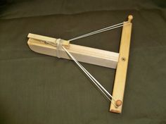 Marshmallow shooter crossbow recycled wood by LilyBugBabyThings, $7.00