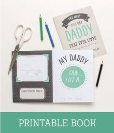 FREE Fathers Day Printables for Kids ~ Tinyme
