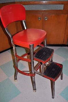 Wedgwood Tulsa: Vintage Cosco Stool - Restore?