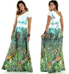 vestidos longos estampados 4