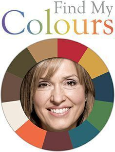 Find My Colours: online test to help determine which color season and tone (light, dark, cool, warm, bright, or muted) you are using an uploaded photo of yourself. (The example photo is is for an Autumn.) You can't download the photos of yourself inside each wheels (like the image shown here) so you'll need to take a screen capture.