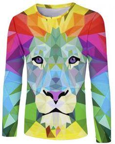 a4ada14fd 47 Best 2018 3D lion t shirt for men images   Leo, Lion, Lions