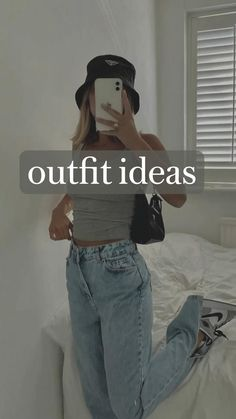 Indie Outfits, Teen Fashion Outfits, Retro Outfits, Swaggy Outfits, Cute Comfy Outfits, Trendy Summer Outfits, Casual School Outfits, Mode Vintage, Everyday Outfits
