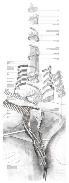 The RIBA President's Medals Student Awards // Institute of Time by Nicholas Lo - University of Nottingham Nottingham UK - (2012)