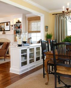 9 Best living room kitchen divider images | Living room ...