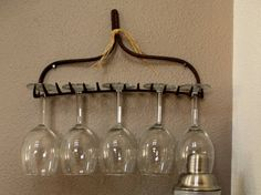Recycle lovers etagere a verres