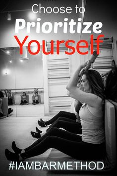 Choose to prioritize yourself! Choose Bar Method #iambarmethod #barmethodatlanta