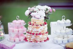 The cutest wedding cake ever! :)