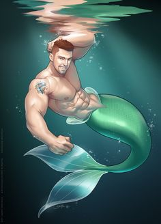 Merman Sven by silverjow.deviantart.com on @DeviantArt