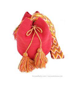 Authentic Wayuu Bags  Wayuu Mochila handmade by by loveandlucky, $80.00
