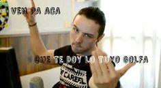 Youtuber | 8cho | Ven pa acá que te doy lo tuyo GOLFA
