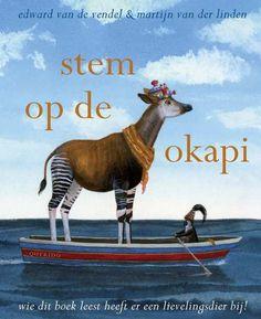 Stem Op De Okapi | Edward van de Vendel, illustraties Martijn van der Linden