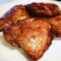 Poitrines de poulet marinées délectables