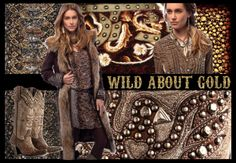 """Call of the Wild - Wild About Gold Fall 2012"" by doubledranch on Polyvore"