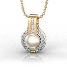 Best Online Diamond Jewellery store in India. Gold Pendant, Pendant Necklace, Gemini And Cancer, Diamonds And Gold, Mandolin, Saudi Arabia, Diamond Jewelry, Jewelry Collection, Pearl