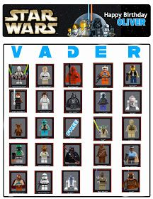 Played Star Wars Bingo with this free printable