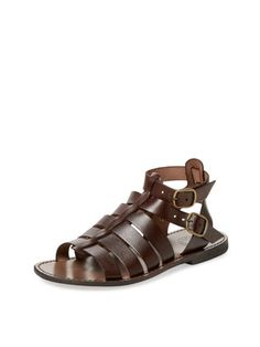 0d92a9ac208 Leather Gladiator Sandal by Miramare Italia at Gilt Mens Boots Fashion