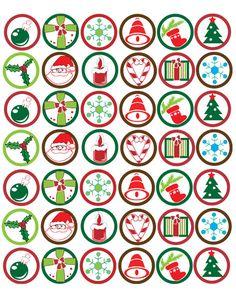 Christmas Bottle Cap Images at Bottle Cap Co