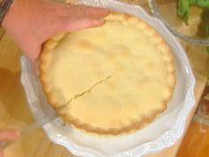 Torta della Nonna (Grandma's Cake) recipe from Mario Batali via Food Network
