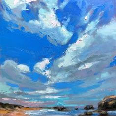 Modern Impressionism, Fine Art Gallery, Expressionism, Dream Life, Martini, Color Schemes, Clouds, Paintings, Sky
