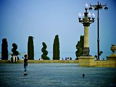 Bulvar, Baku, Azerbaijan by Lisa Hafey