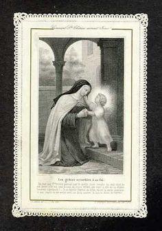 St. Teresa of Avila & child Jesus