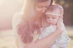 Baby & Mom, Wildflowers Photos