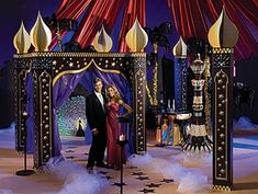 Our exclusive Arabian Paradise Kit will give your party venue the look and feel of the Middle East. The Arabian Paradise Kit features rich jewel-tones.