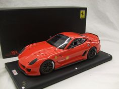 Currently at the Catawiki auctions: MR Models - 1/18 scale - Ferrari 599 XX red, Ltd. ed. 1/99